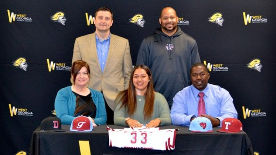 Photo for WGTC's Sydnee Clark signs with Talladega College