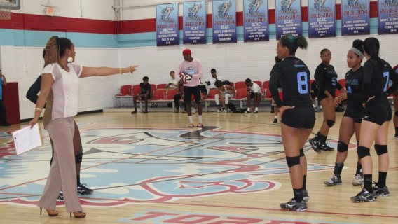 Photo for Vollleyball Team Wins 3-1 at Philander Smith